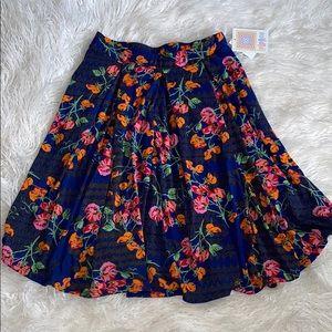 LulaRoe Madison Floral Skirt NWT